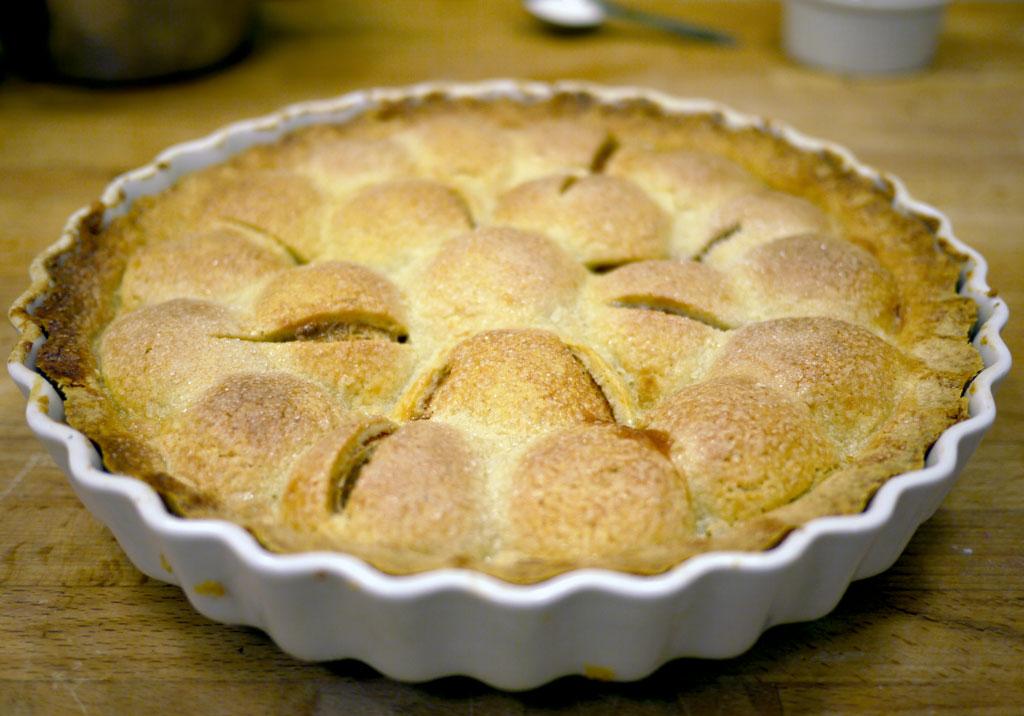 gammeldags æbletærte