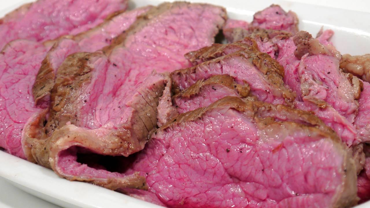 langtidsstegning af kød
